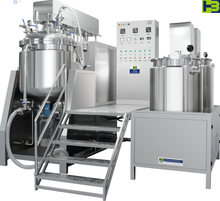 Factory direct sale high speed vacuum mixing emulsifying mixer machine