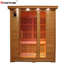 Dry type soft heat cedar infrared magic sauna