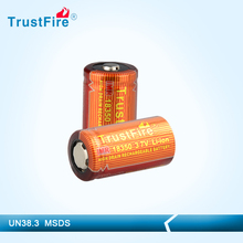 trustfire IMR18350 900mah rechargeable li-ion battery for electronic cigarettes