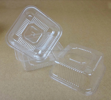 Blister plastic mooncake tray/ cake packing tray