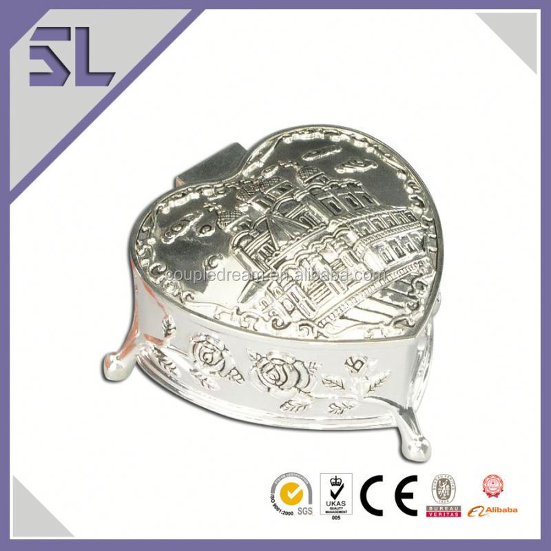 Silver Plated Vintage Style Small Metal Trinket Box Jewelry Boxes South Africa Alibaba Supplier