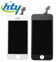 For Iphone 5S (lcd) Screen Glass Replacement Digitizer + LCD Assembly White&Black Color