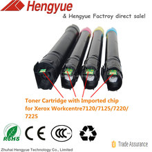 Compatible Toner for Xerox Workcentre 7120 7125 7220 7225 7225T 7220T,:006R01457,006R01458,006R01459,006R01460 toner cartridge