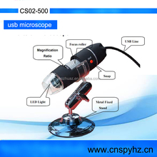 Mini 200X ,500X 800x 1000X 2.0 USB Digital Microscope Mini Endoscope Otoscope LED USB Digital Microscope CS02-500