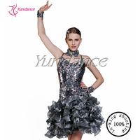 L-13102 Beautiful New Design Cheap Children Girl Latin Dancing Costume, Latin Dance Dress