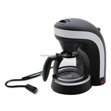 Mini personalized 24v 2-in-1 car coffee maker of tea& coffee