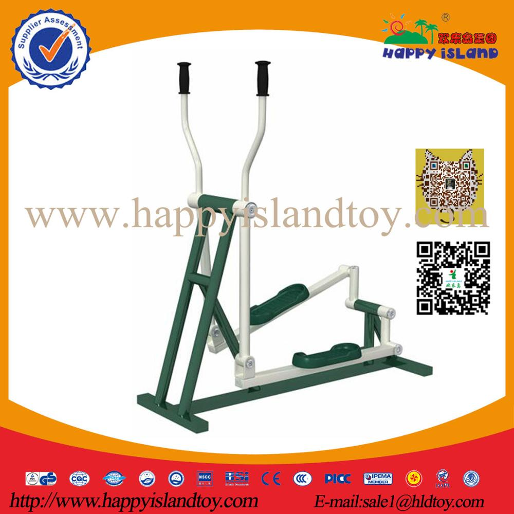 Outdoor Gym Equipment Elliptical Machine Trainer For Body Exercise