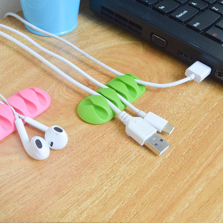 Trending hot products high quality adhesive cable clips cheap electronic promotional gifts