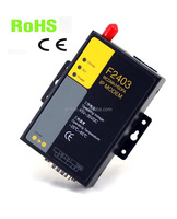 F2403 quad band RS232 Industrial 3g plc modem for PLC SCADA