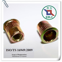 M3-M12 round body rivet nuts