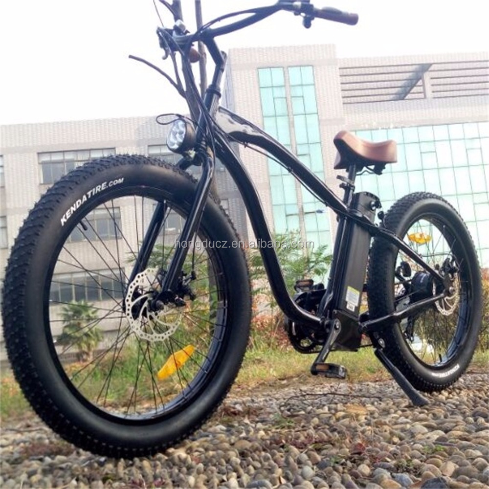 1000W fat tire electric bicycle with EN 15194 <strong>CE</strong>