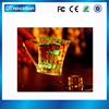 Plastic led cup manufacturer led drinking glass cup with handle