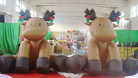 customized new style inflatable deer,inflatable christmas john deere model