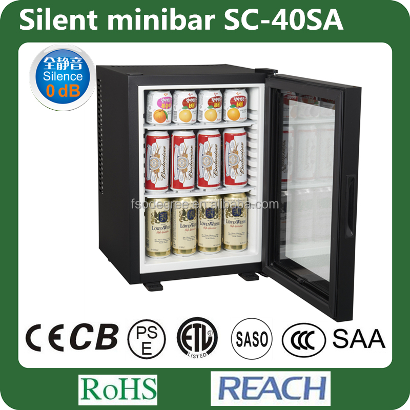 40l glass door mini mini bar for 40l 40l hotel guest room mini fridge
