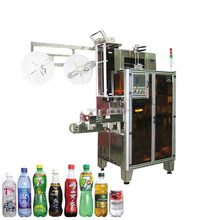 automatic eco-friendly material juicer plastic bottle and glass bottle filling capping and labeling machine for different bottle