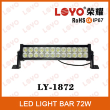 16'' 2014 New 72W Double Row IP67 High Quality Off-road Epsitar 72W LED Light Bar For All Cars, Cheap LED Light Bars