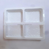Custom PP food grade and high quality biscuit and snack plastic blister packaging divided tray for food