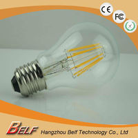 CE/RoHS Certificated LED Filament Bulb E27 6W