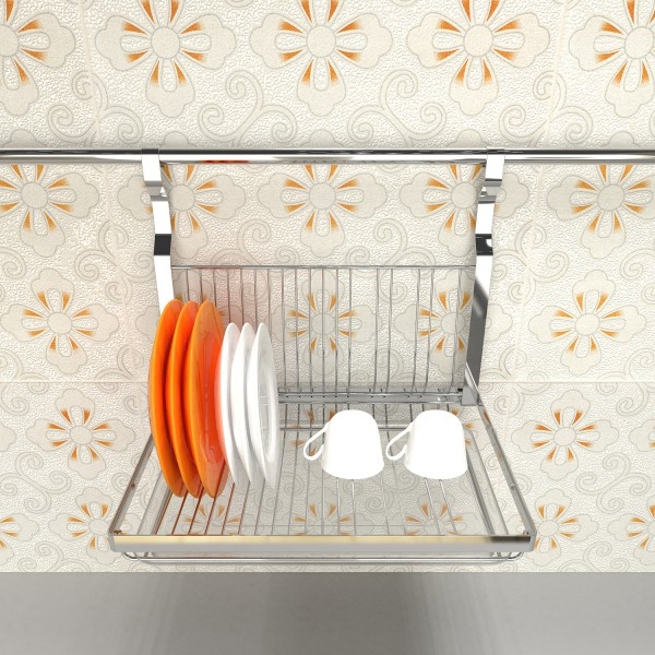Baiying 2016 October Kitchen Accessory Plate Drying Holder Rack stainless steel dishwasher rack