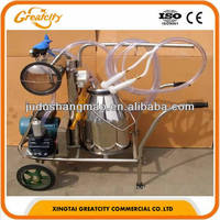 Best price single cow portable milking machine
