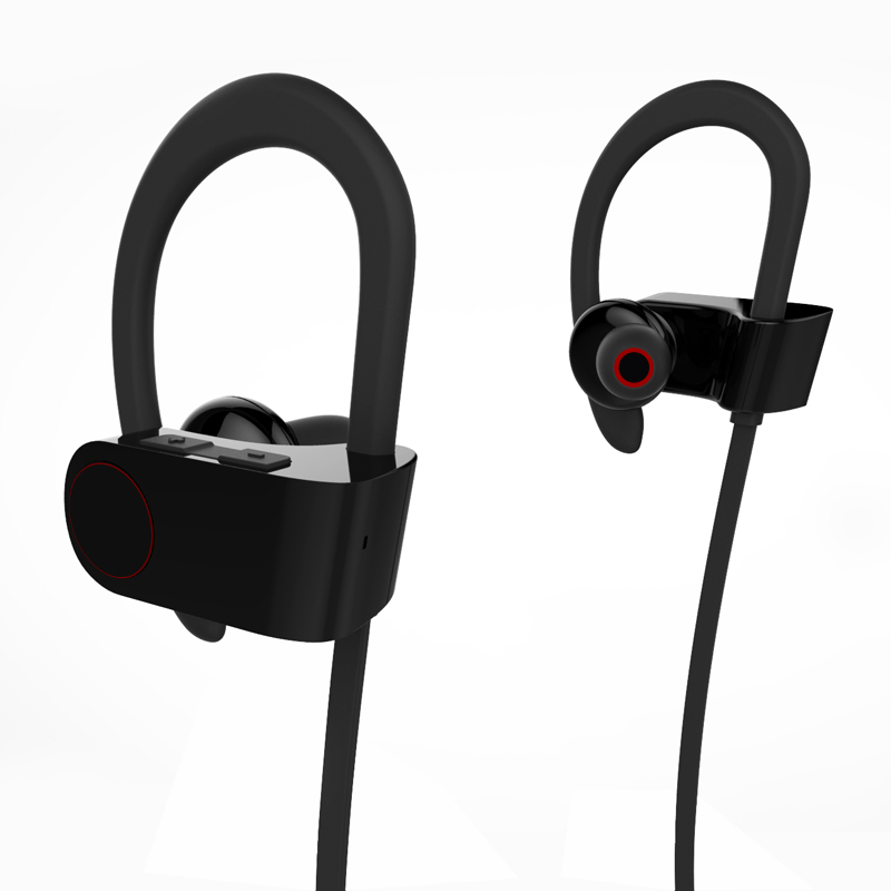 New stereo sport bluetooth headset supplier,Foldable CVC6.0 OEM brand wireless Waterproof Bluetooth Earphone