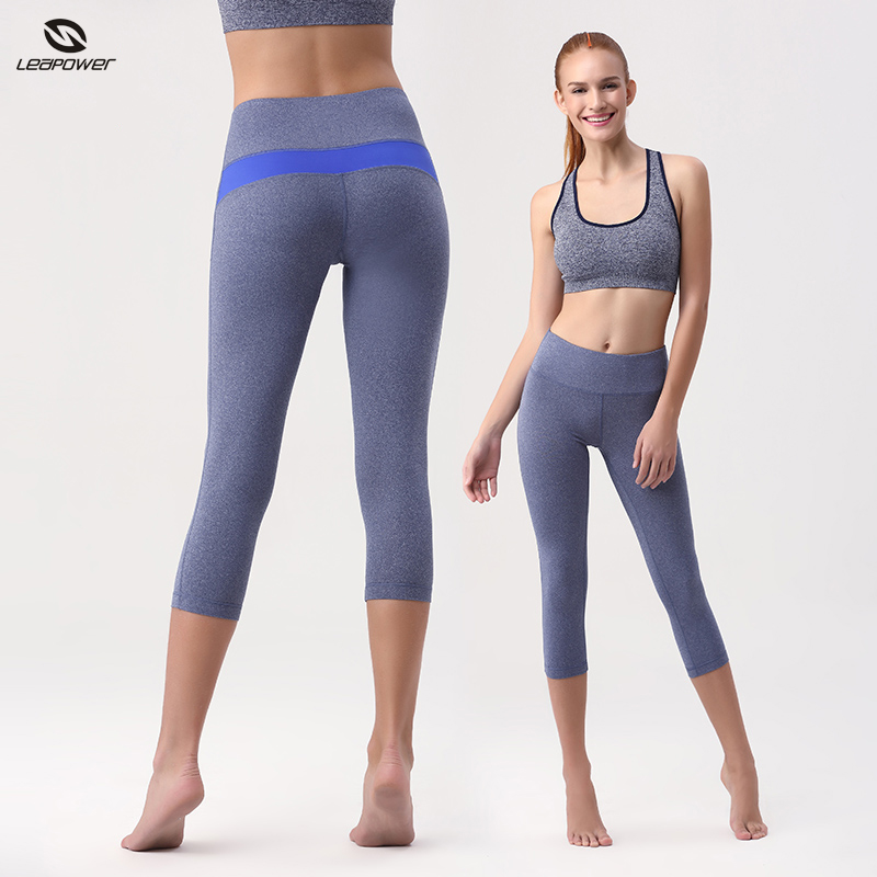 New Compression Capri Pants Stylish Run Tight Yoga Pants For Women