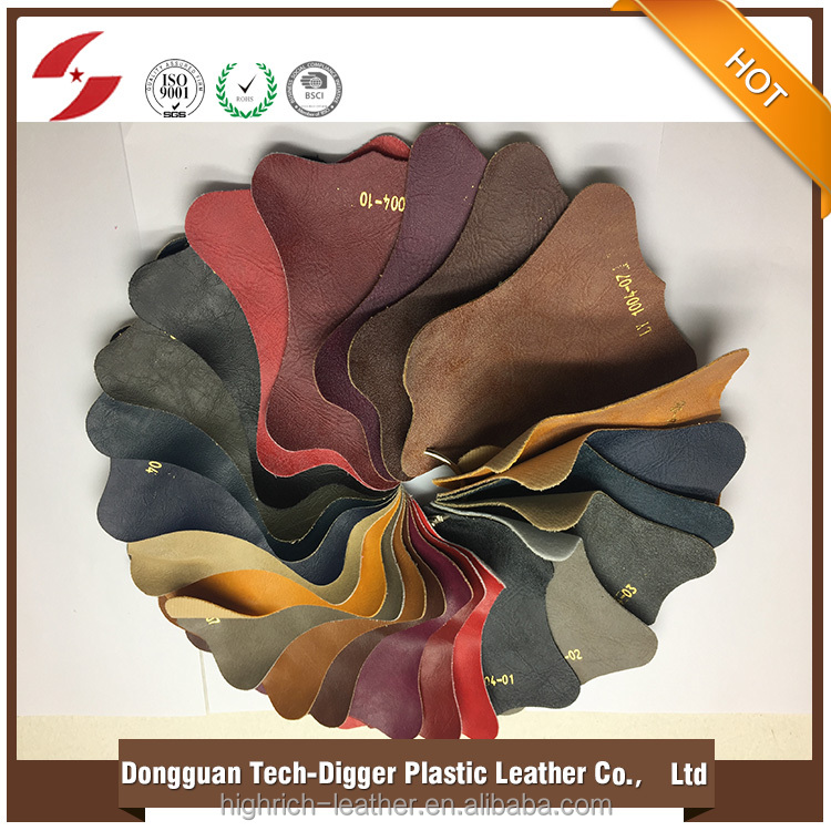 OEM Available Eco-friendly suede matte pu leather for sofa home furniture