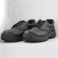 Low cut CE S3 SRC lace steel midsole and steel toe cap cow leather high quality safety shoes