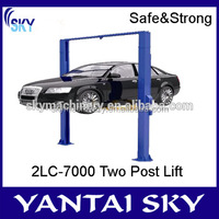 Alibaba Express Two Post Portable Handrail Car Lift With CE