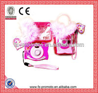 pink picture viewer camera toy