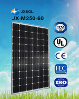 2016 hot sale high efficiency and top quality photovoltaic mono pv panel pv module solar panels 250w for home system