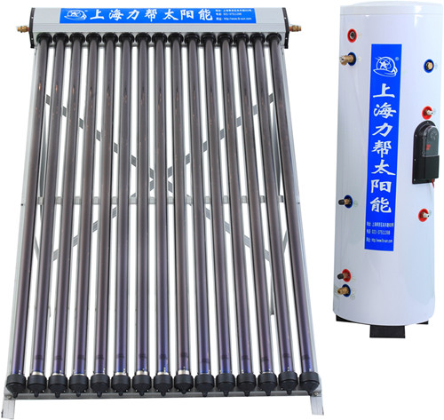 100 liters heat pipe vacuum tube pressure solar water heater price, solar heating system