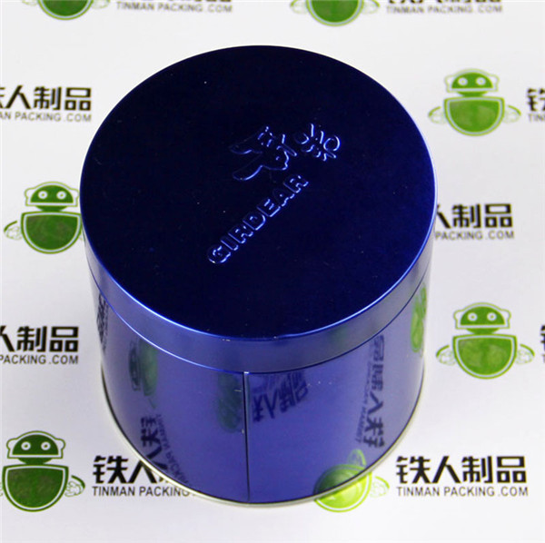 Tin Can Packaging Tea Canister