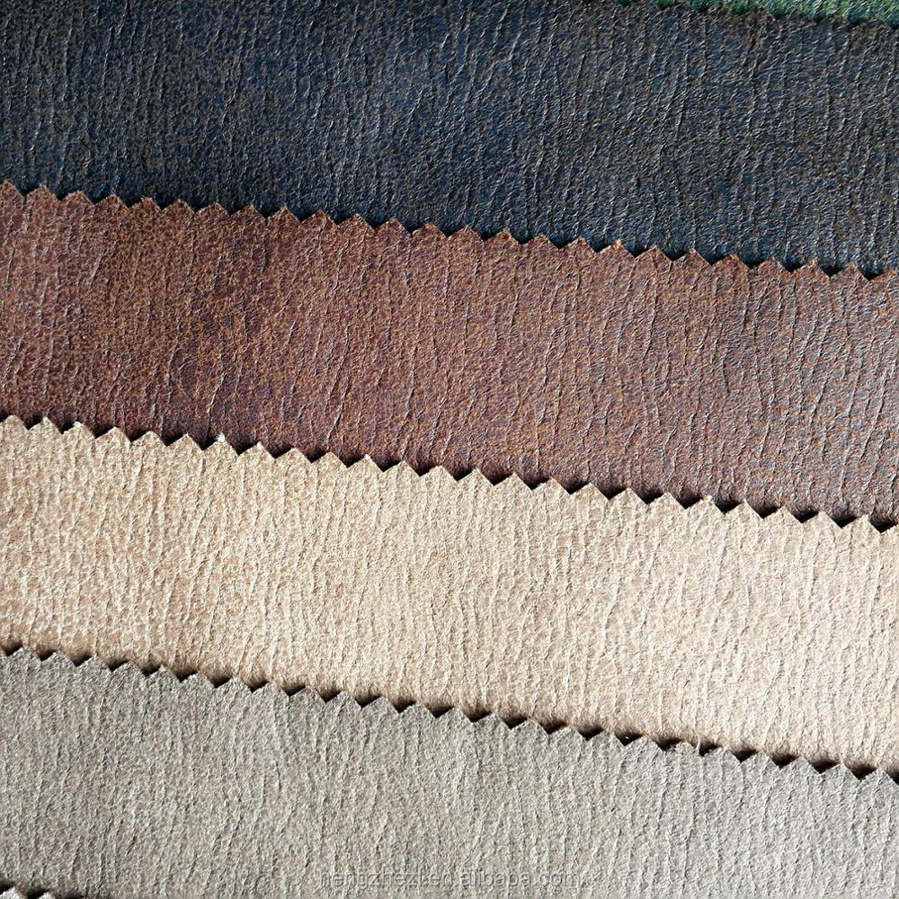 China Factory wholesale waterproof microfaux suede fabric for upholstery sofa