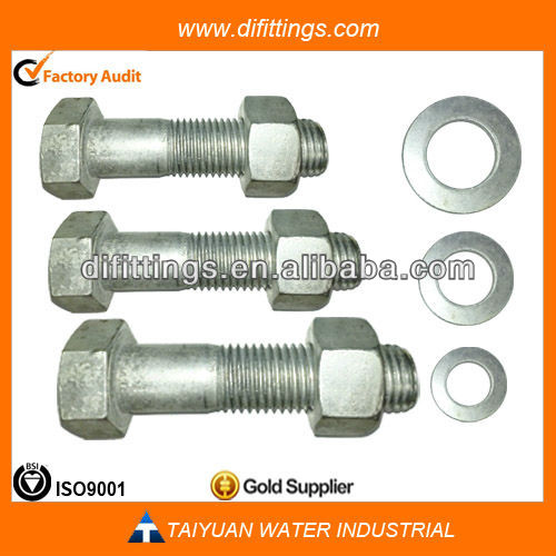 anti-theft bolt and nut