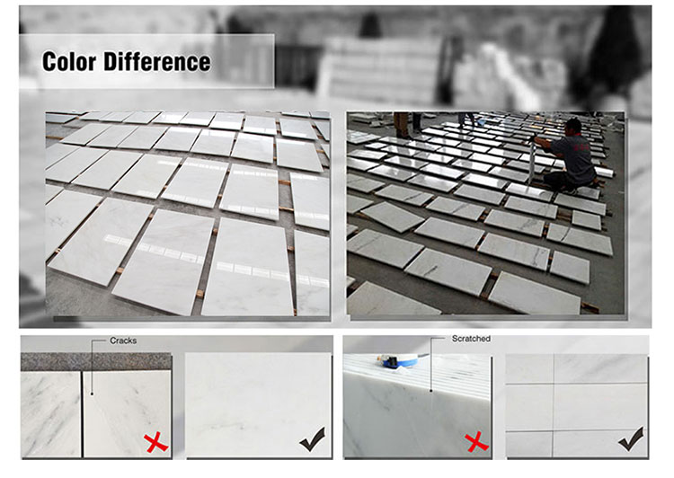 Century Mosaic Competitive Price Statuary White Marble Tile