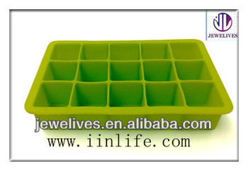 New arrival custom silicone trays/ ice cube silicone trays