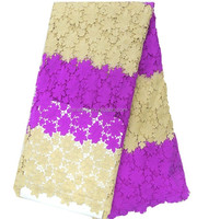 High quality fashion design women colorful lace fabric african