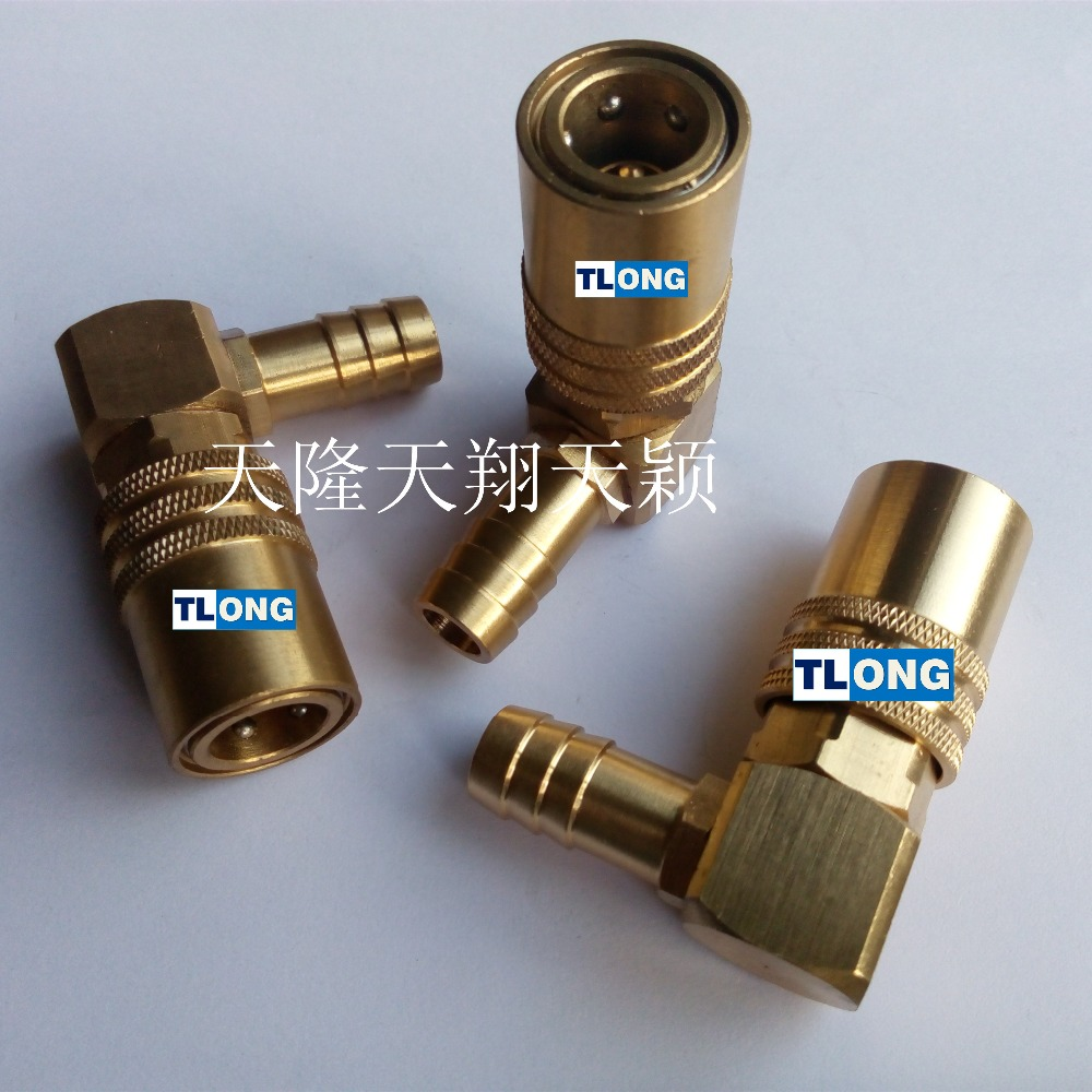 mechanical coupling pipe swivel joint for plastic machine hose