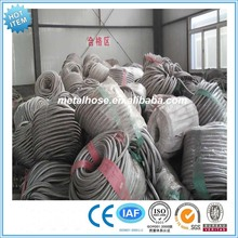 flexible wire/stainless steel braided mesh/net ss304 316 hose (manufacturer)