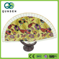 cheap bamboo drawing of design of hand fan