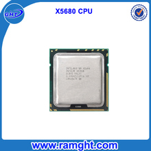 Factory for sale X5680 LGA1366 Socket 3.33Ghz external cpu processor