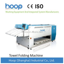Automatic towel folding machine for laundry shop
