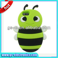 Super Cute 3D Silicone Bee Case for iPhone5 Animal cellphone Case