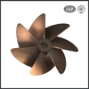 High quality bronze marine boat propeller