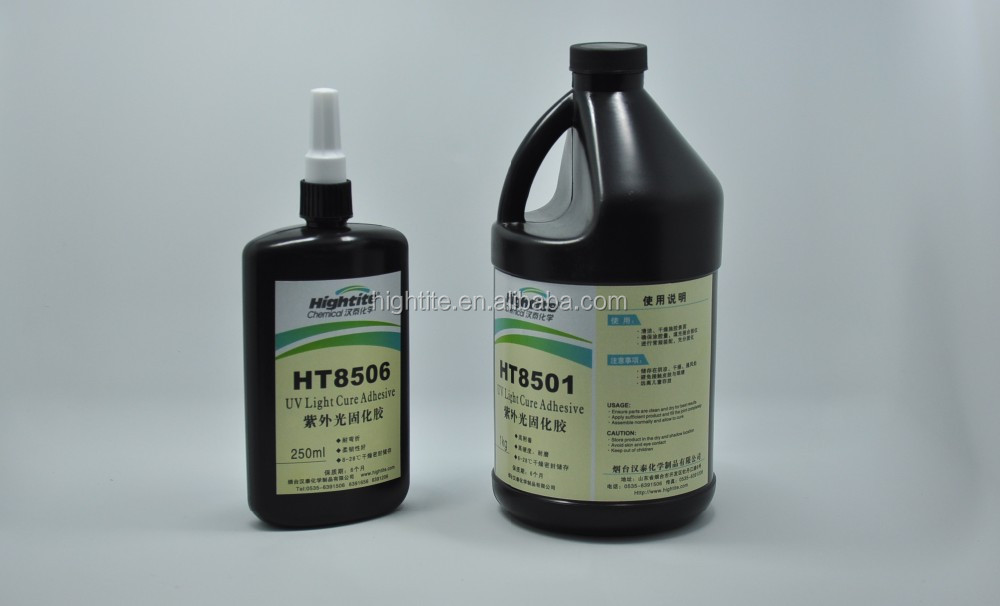HT8501 UV Glue Transfer Coating protection glue for smart card/keypad/touch panel on alibaba china