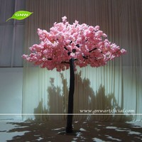 GNW BLS1603005 High similation pink artificial blossom tree Small decoration with family and wedding