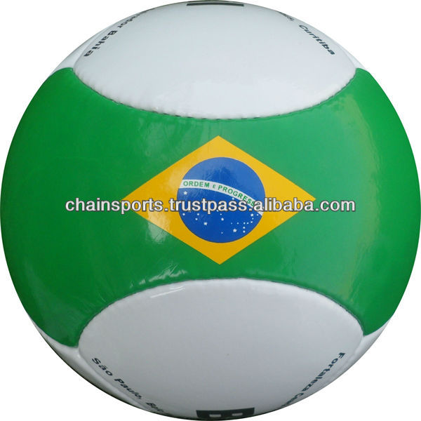 6 panel soccer ball