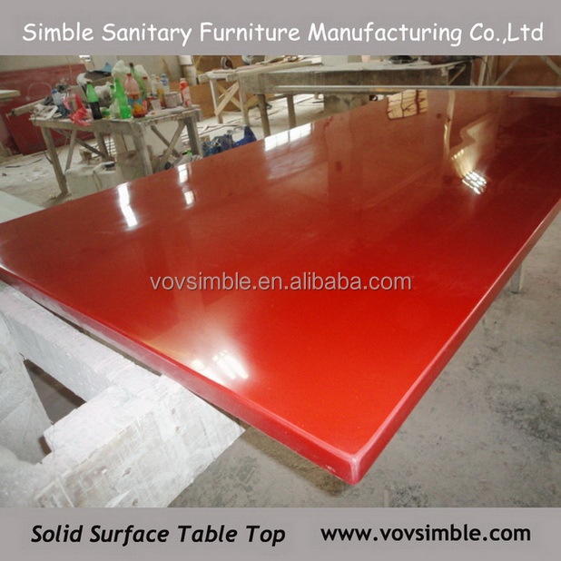 High quality customized acrylic table top from China manufacture