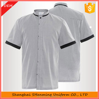 High Quality Long Sleeve Cheap Hotel Staff Cotton Housekeeper Uniform